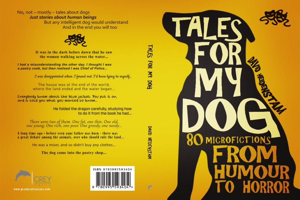 """Cover of """"Tales for my dog"""""""