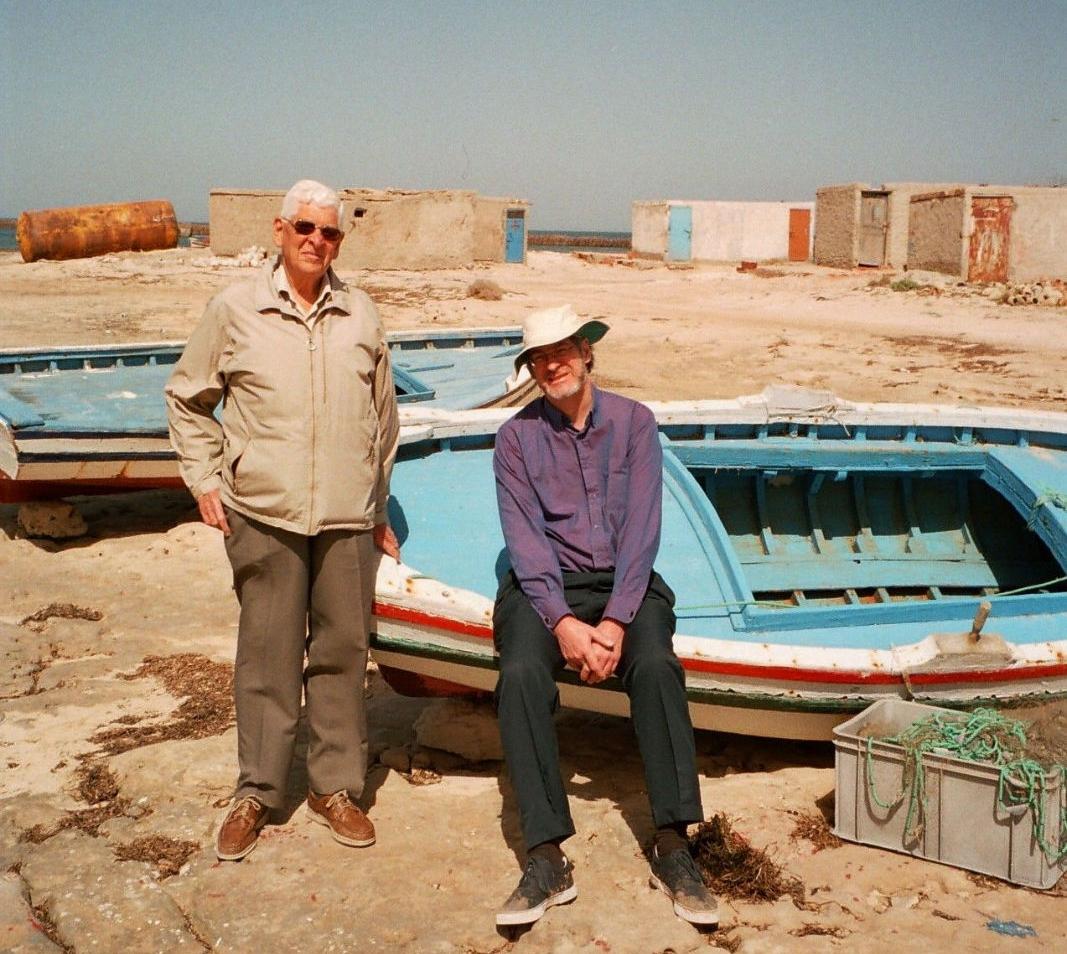 Felix & Mark Heidenstam, Djerba island, Tunisia