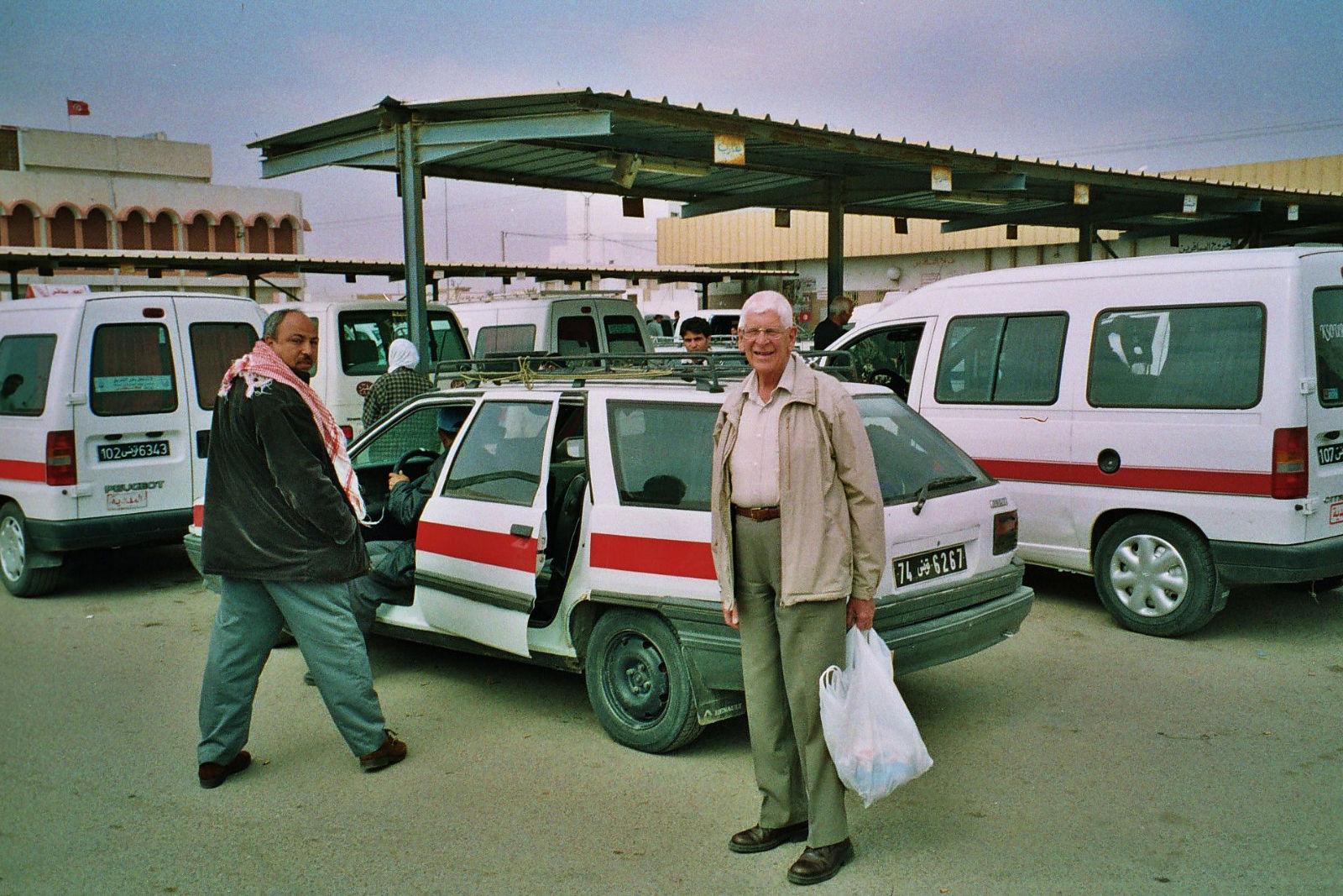 Felix Heidenstam, Tunisia, 2001