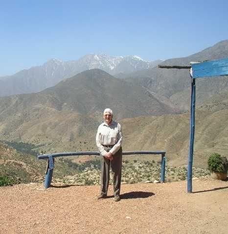 Felix Heidenstam - crossing the High Atlas by taxi