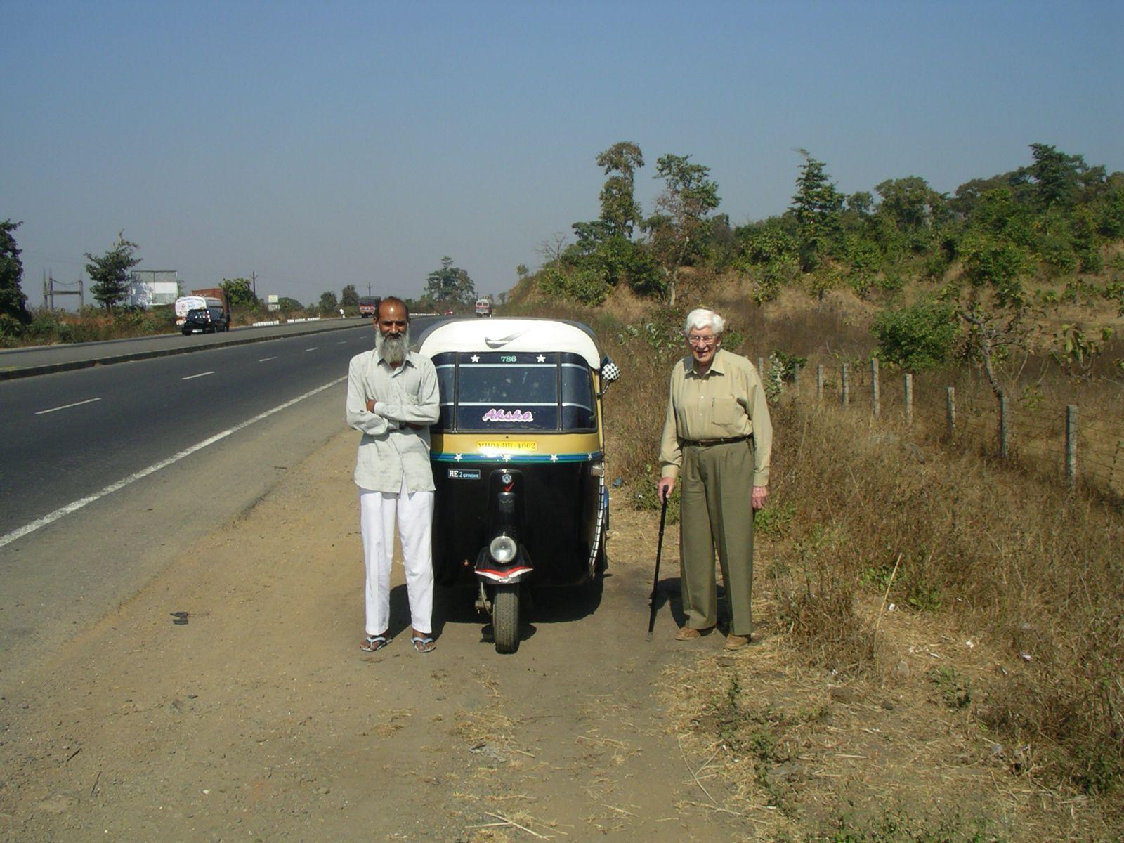 Felix Heidenstam - long-distance by auto-rickshaw!