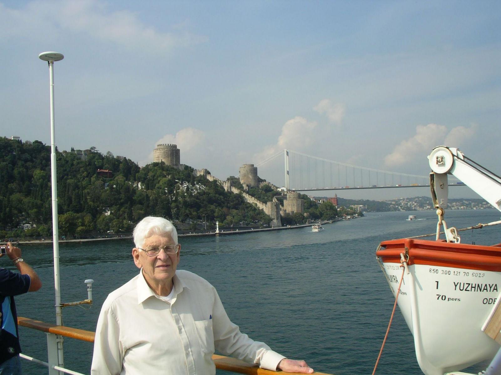 Felix Heidenstam - ferry from Odessa to Istanbul, across the Black Sea, 2006