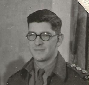 Felix Heidenstam in REME uniform,1945